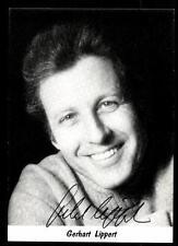 Gerhart Lippert Autogrammkarte Original Signiert # BC 49435