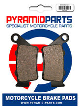 CCM 644 DS 02-06 Rear Brake Pads
