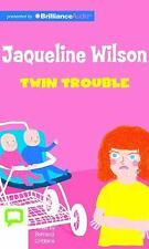Twin Trouble by Jacqueline Wilson (2015, CD, Unabridged)