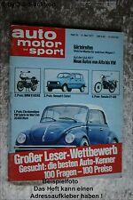 AMS Auto Motor Sport 10/77 * Käfer 1303 Cabrio Monteverdi Safari MG TC