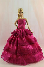 Fashion Princess Party Dress/Evening Clothes/Gown For Barbie Doll S329