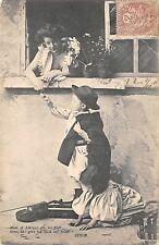 BR71437 byron child playing violin maid of athens france