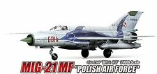 Academy Model Kits 1/48 MIG-21MF fishbed POLISH Air Force Limited Edition 12224