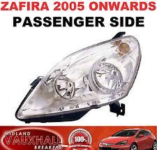 Vauxhall ZAFIRA B Faro Faro Cromo Lado Pasajero Cercano CDTI Exclusiv