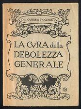 PROTON Ricostituente / Rocchietta La cura della debolezza generale 1920 Farmacia