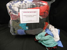 10 KG T-SHIRT MATERIAL CLEANING RAGS / WIPERS
