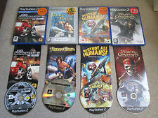 4 x Teen Ps2 Games - Prince Of Persia Midnight Club 3 Destroy All Humans For Ps2