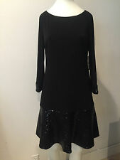 NWT LAUNDRY BY SHELLI SEGAL Sequin Dress! Size 2!!!! SHAWEI