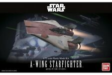 Star Wars Plastic Model Kit 1/72 A-WING STARFIGHTER Bandai Japan NEW **
