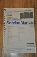 Vintage Service Manual. Philips TAPCCD FCD463 / 30/35 stereo stack music centre.