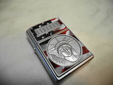 ZIPPO  ACCENDINO LIGHTER THE FACE OF LIBERTY EMBLEM  NEW NUOVO