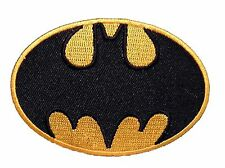 Batman  -  Classic Comic Logo  - Patch  Aufnäher  neu