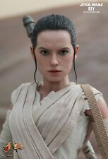 REY Hot Toys 1/6 Figure Star Wars Force Awakens DAISY RIDLEY IN STOCK LTD SALE