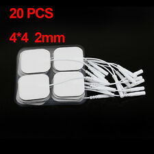20PCS Self-Adhesive Massage Electrodes Conductive Electro Slice Electrode Pads