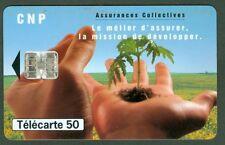 TELECARTE 50 UNITES   EN 1135  CNP  ASSURANCES   VIDE