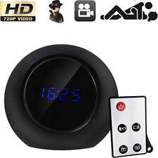 1280x720P HD Alarm Clock Hidden Camera Video Cam Motion Detect Video Nanny DVR