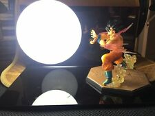 LED Night Light Dragon Ball Z Son Goku Bulbs Model Kaiouken Kamehameha With Base