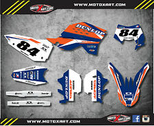 KTM EXC 2008 2009 2010 2011 Custom graphics kit FORCE style decals stickers