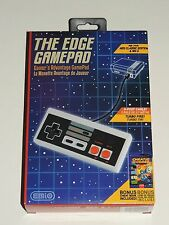 THE EDGE GAMEPAD FOR NES CLASSIC EDITION & WII U CONSOLE *BONUS CHEAT BOOK!*