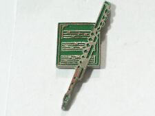 Heineken Flute and Sheet Music Vintage Beer Pin **