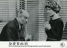 LOUIS DE FUNES CLAUDE GENSAC OSCAR 1967 VINTAGE PHOTO ORIGINAL #1