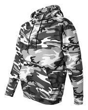 Code V - Camouflage Pullover Hooded Sweatshirt - 3969