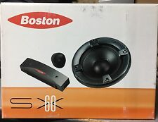 "NEW Old School Boston Acoustics SX60 6.5"" Component Speakers,Rare,Vintage,NOS"
