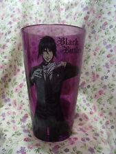 BLACK BUTLER SEBASTIAN PURPLE PINT GLASS