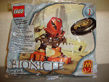NEW ***HUKI Matoran*** #1388 McDonald's Promo #1 with Disc~ BIONICLE Lego, NEW