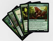 5X DIFFERENT Random GREEN Rare Cards MTG Magic the Gathering Lot Collection Set