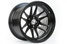 Cosmis Racing XT-206R 18x11 +8mm 5x114.3 in Black   2 Wheels / Pair