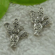 free ship 188 pieces tibet silver branch charms 24x20mm #3459