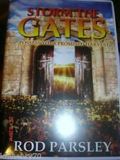 Storm the Gates Rod Parsely Audiobook 4 Cassettes Hard Shell Case Free Ship
