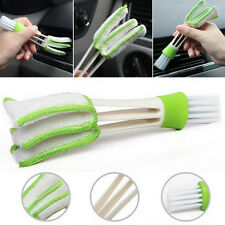 Auto Air Conditioner Outlet Vent Keyboard WIndow Blind Dust Clean Brush Cleaner