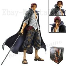 "One Piece P.O.P DX Red-Haired Pirates Shanks 24cm/9.5"" PVC Figure New In Box"