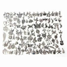 Wholesale 100x Bulk Lots Tibetan Silver Mix Charm Pendants Jewelry DIY xc