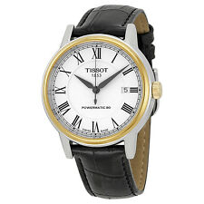 Tissot T0854072601300 Carson Powermatic 80 Swiss Made Automatic Men's Watch