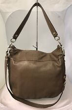 Rare Coach Zoe Chocolate Brown Leather Shoulder  Hand Bag Crossbody Purse F14706