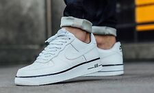 NIKE AIR FORCE 1 BIANCO NERO LIMITED EDITION AF1 formatori UK SZ 10,5 488298-160