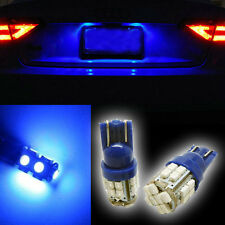 High-quality 2x 360°Ultra Blue 24-smd car Light LED Bulbs For License Plate Hb-D