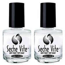 Seche Vite Top Coat  2 pack