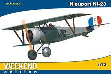Eduard Nieuport ni 23 Russian Imperial Air Force kibanov 1917 modelo-kit 1:72