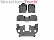 WeatherTech Floor Mats FloorLiner for Nissan Armada - 2017 - Black