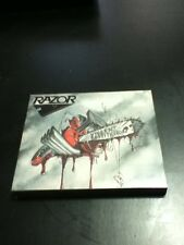 razor violent restitution reissue w/slipcase cd factory sealed thrash metal