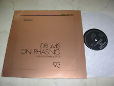 LIBRARY SELECTED SOUND Joe Ufer Drums Section DRUMS ON PHASING 1981