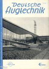 Deutsche Flugtechnik   Luftfahrt Zeitschrift   Flugzeugbau Dresden Heft 4 1959