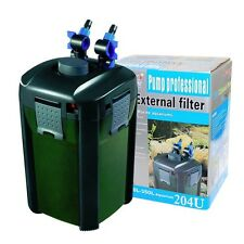 JEBAO 5-STAGE AQUARIUM EXTERNAL CANISTER FILTER w/9-watt UVC FREE MEDIA KITS