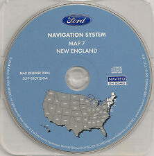03 04 05 06 Ford Expedition Escape Navigation Map Cover VT ME NH MA RI CT NY NJ
