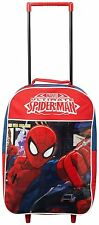 Spiderman Wheeled Trolley Backpack Rucksack Children Boys School Bag