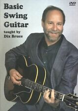 Dix Bruce Basic Swing Guitar Learn to Play Jazz Lesson Tutor Music DVD